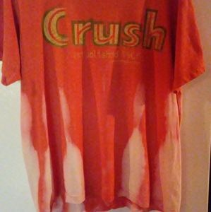 Crush t shirt bleach thrashed